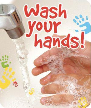 Hand washing poster- free printable