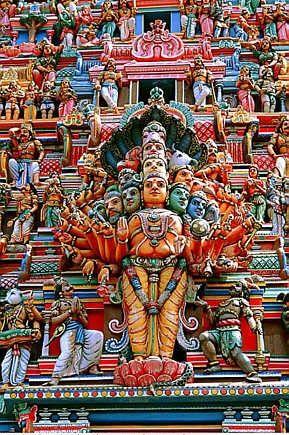 Sri Lanka . Temple hindou