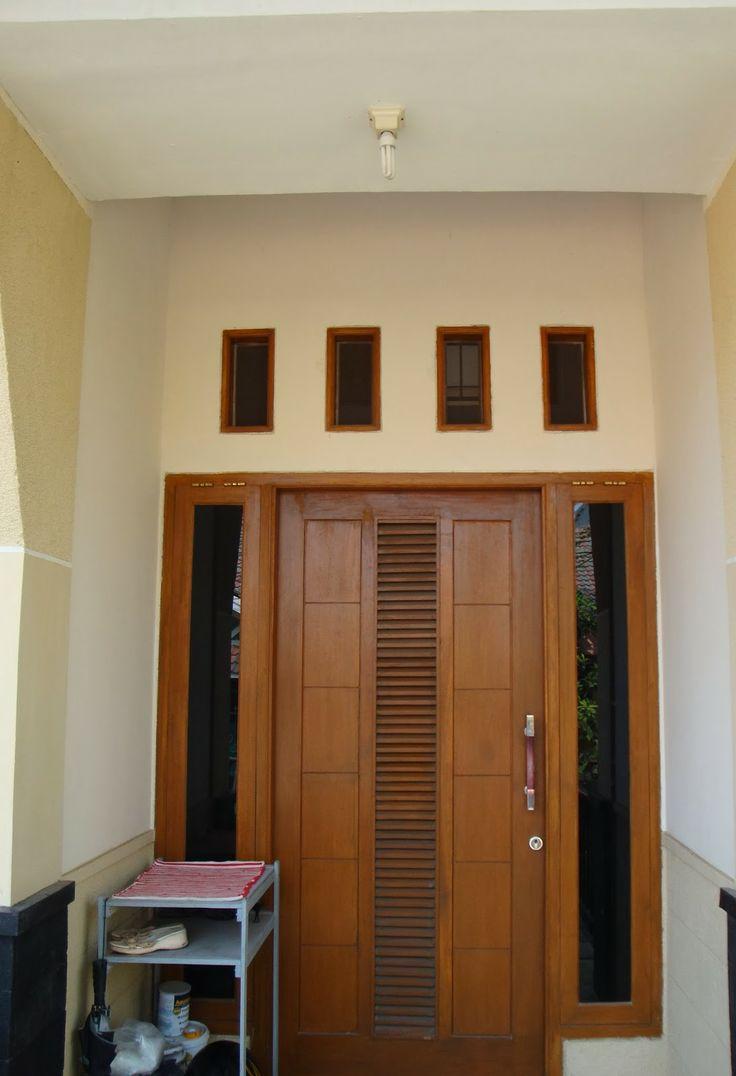 Gambar Desain Pintu Rumah Minimalis Sederhana Terbaru