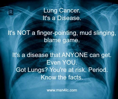 MAKE SOME NOISE for lung cancer awareness