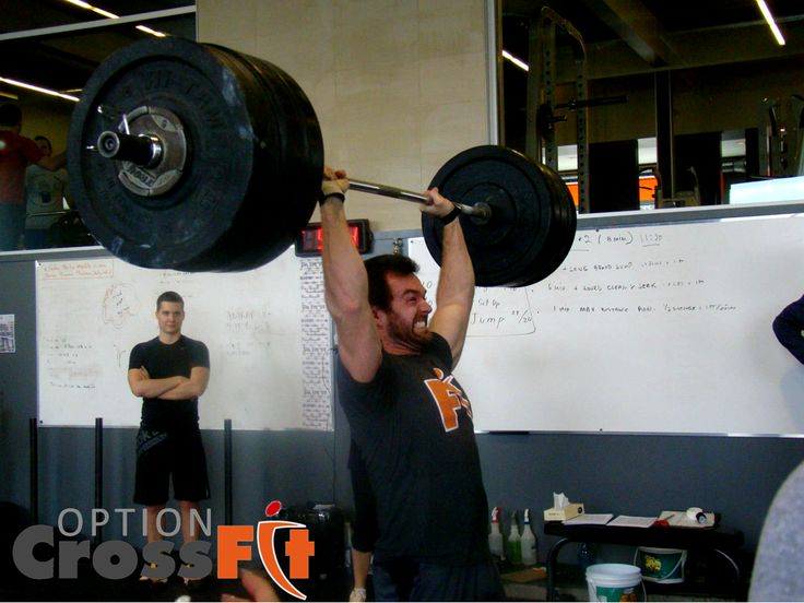 Our boss it a #lifting beast! #crossFit #optioncrossfitpiedmont