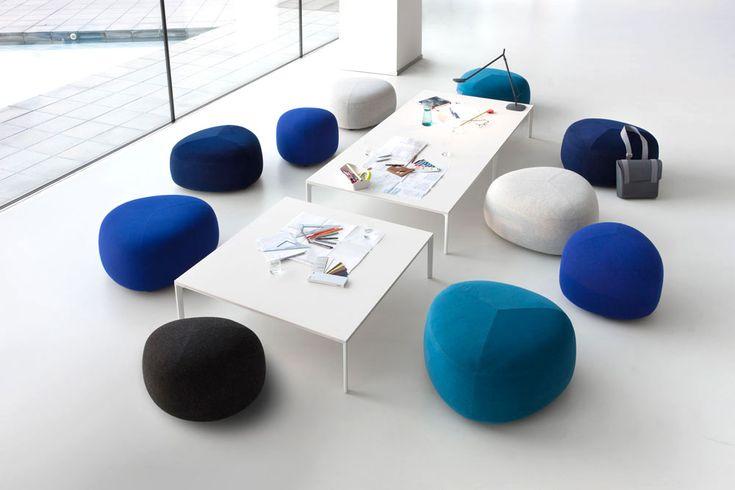 10 shades of blue   Kipu ottoman, Andersen & Voll, Lapalma, 2016