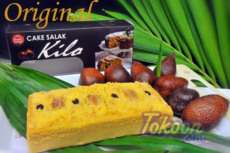 Cake Salak Balikpapan - Indonesia Yuummieeeh~ https://www.tokoon.com/Product/Detail/25903