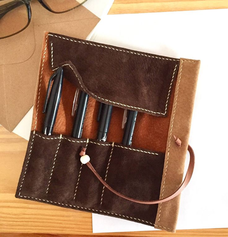 Thanks for the great review Mish ★★★★★! #etsy #pencase #pencilcase #pencaseleather