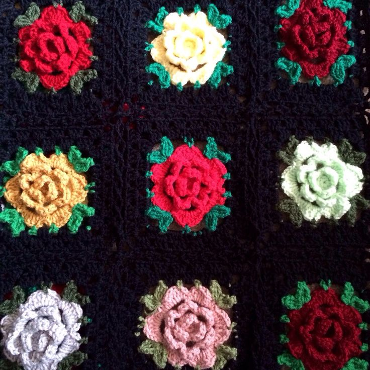 468 Best Crochet Squares Love Images On Pinterest Hand Crafts