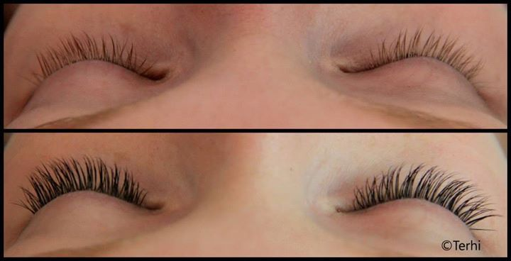 Eyelash extensions adds color and volume to your lashes; by Terhi