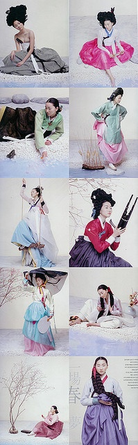 Korean Traditional Dress, 한복(Hanbok)