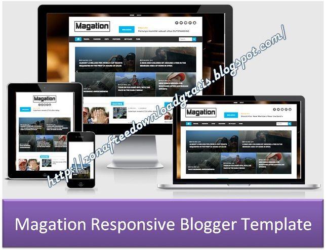 Magation Responsive Blogger Template. More templates see at http://zonafreedownloadgratis.blogspot.com/