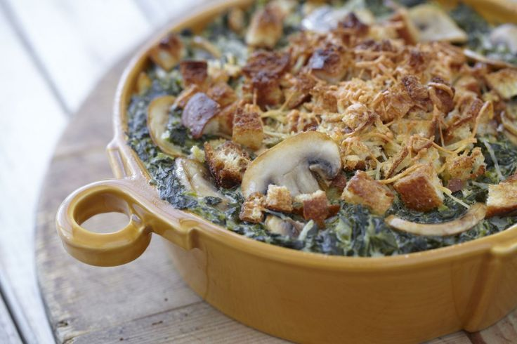 I'm always looking for side dishes for dinner and parties. Hidden Valley has some really yummy recipes!  Homestyle Spinach and Mushrooms