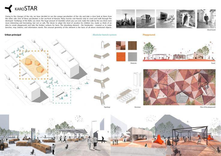 "Architecture competition ""War Port Microtecture"" honorable mention - Roman Kovenski / Valeria Pestereva / Yakov Faibisovich / Alexander Shipunov"