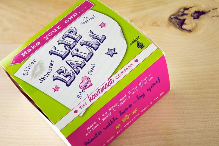 The Homemade Company - Shimmer Lip Balm Kit