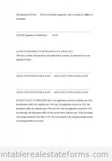 Free Mortgage Servicing Transfer Disclosure Printable Real Estate Document