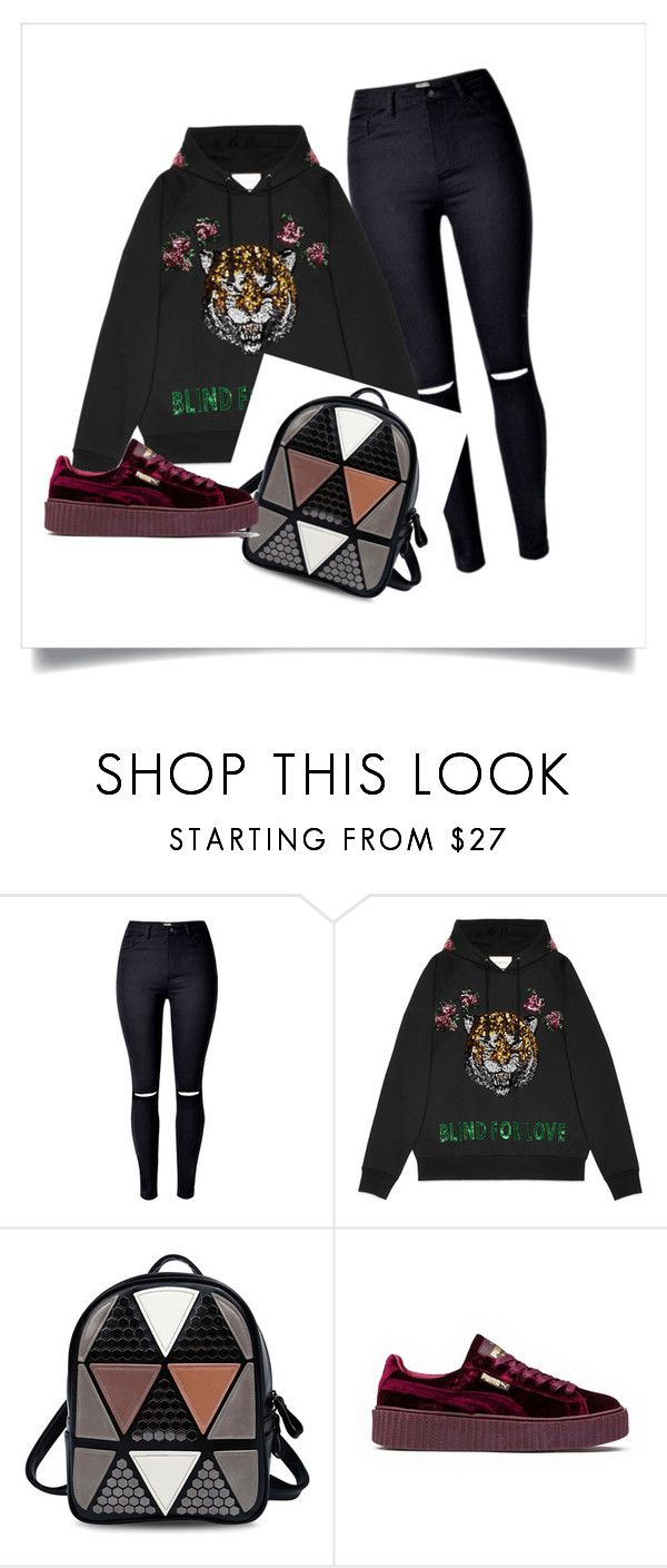 """""""Taehyung Inspired"""" by btsmyhearteu on Polyvore featuring Gucci and Puma"""