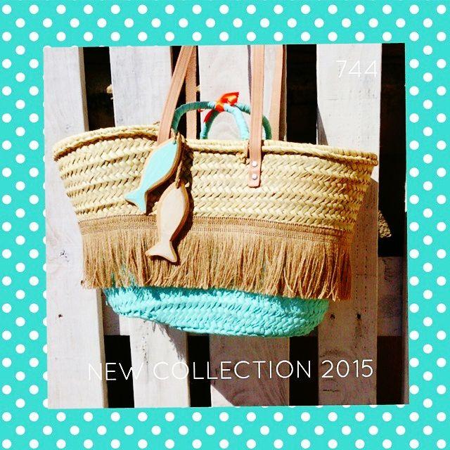 sietecuatrocuatro: NEW COLLECTION ... NUEVA TEMPORADA 2015 ... CAPAZOS DE 744 capazos-beach-bags-summer-verano-sol-sun-playa-beach