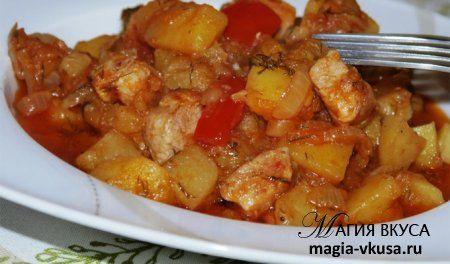 Рецепты свинина с перцем чили