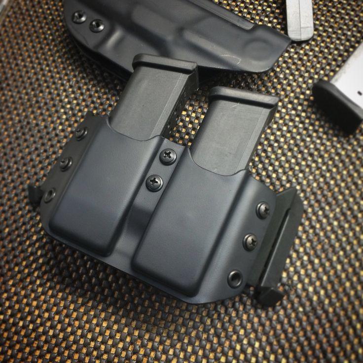 Glock 19 Single Magazine Carrier Carbon Fiber Kydex Mag Holder k5Y8W7jcT