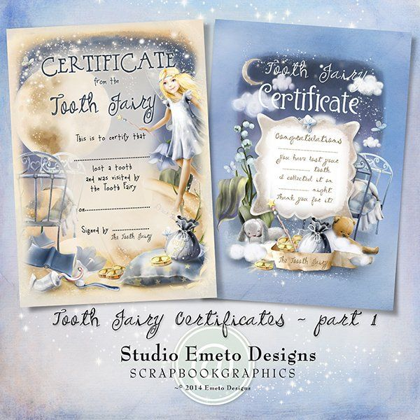 Dear Tooth Fairy...Tooth Fairy Certificates part1