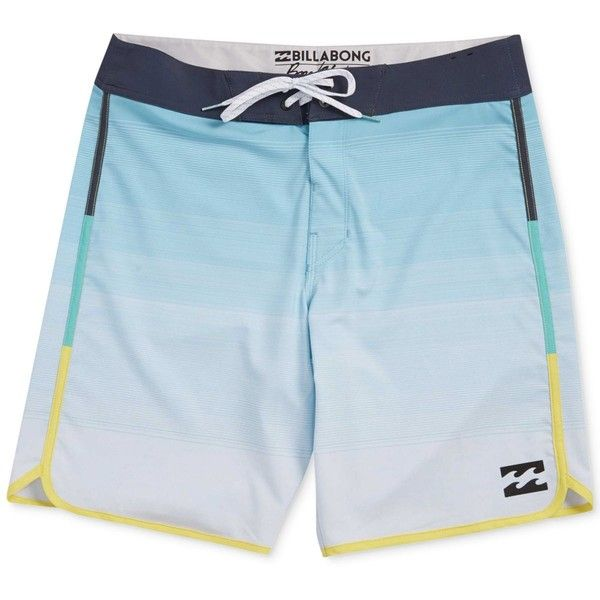 Billabong Men's Swimsuit (€49) ❤ liked on Polyvore featuring men's fashion, men's clothing, men's swimwear, mint, billabong mens clothing, mens swimsuits, mens swimwear, mens clothing and mens bathing suits