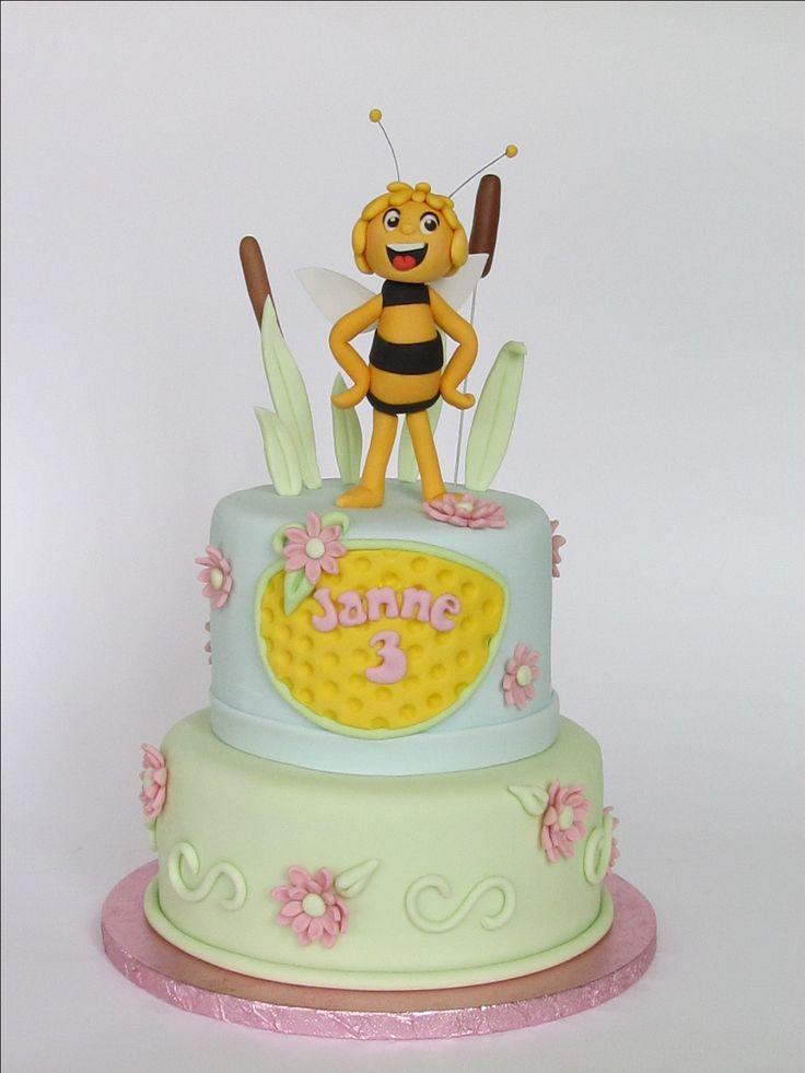 Maya de bij - Maya the bee birthday cake by Liesjes Lekkernijen