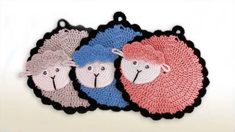 145 best topflappen images on Pinterest   Crochet potholders, Pot ...