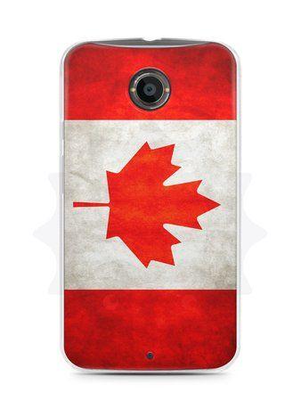 Capa Capinha Moto X2 Bandeira do Canadá