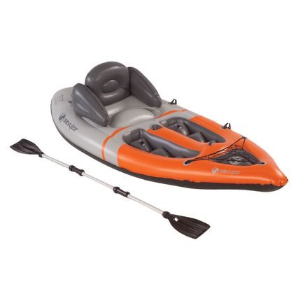 The Sevylor Kayak Is Certified To Hold A Load Of Up 170 Kg This Sport Includes Aluminium Paddle