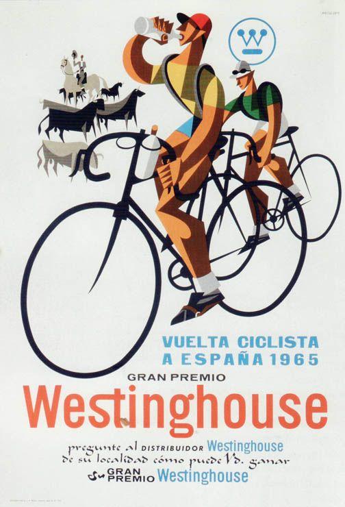 Cartel de la Vuelta 1965 y los patrocinadores...