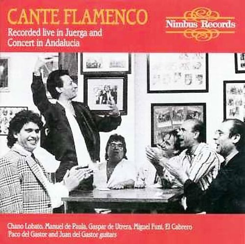 Cante Flamenco: Recorded Live in Juerga & Concert In Andalucia [CD]