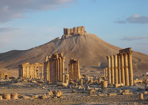 Palmyra, Syria. A beautiful place you would not want to go to right now..