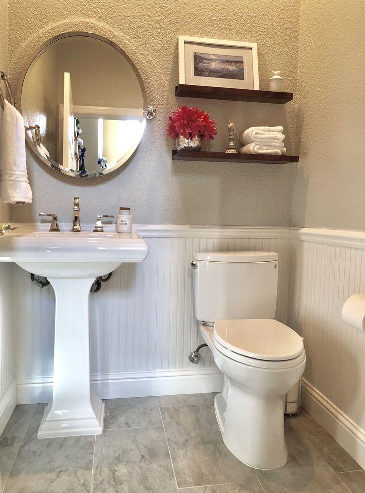 Beautiful House Ideas Powder Room Small Farmhouse Country Elegant Modern Traditional Half Bathroom Decor Powder Room Remodel Elegant Bathroom