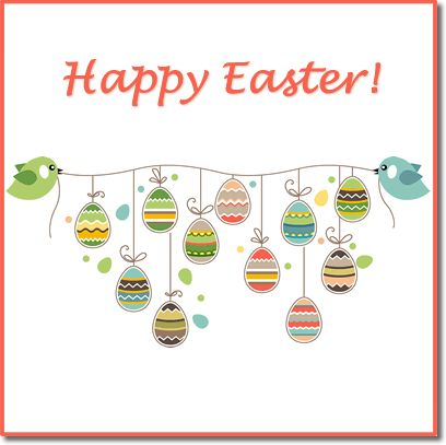 Selection of printable ❀ Easter Cards + Envelope template ❀ PDF's
