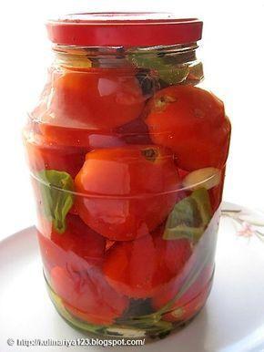 Кулинарная книга Алии: 327. Маринованные помидоры
