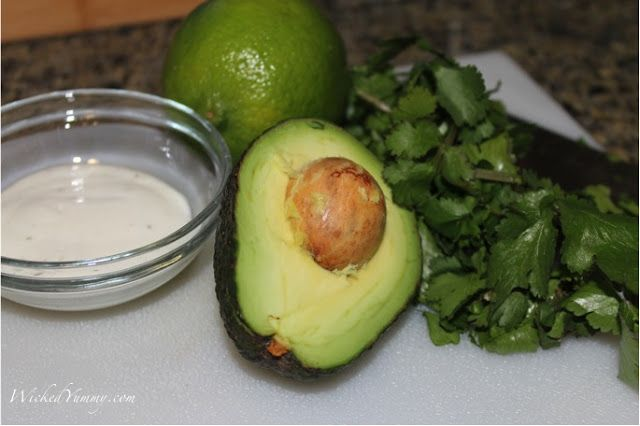 Wicked Yummy: Light Avocado Ranch Dip | Sandwiches, Salads, and Soups ...