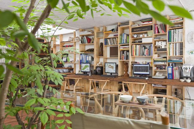 A21 House by A21 Studio in Vietnam. I LOVE this place!: Spacehom Officestudio, A21 Houses, Contemporary Offices, Offices Design, Interiors Design, Home Decor, Ho Chi Minh, Home Studios, A21 Studios