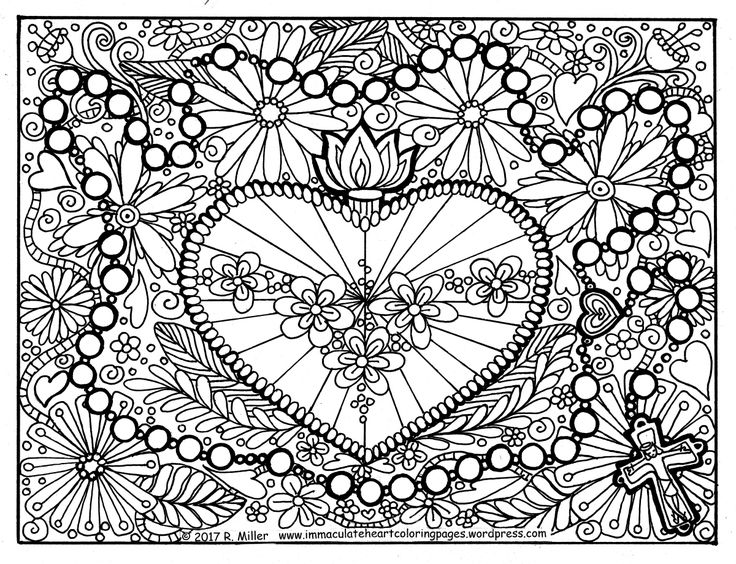 31 best catholic coloring images on pinterest catholic for Hail mary coloring pages