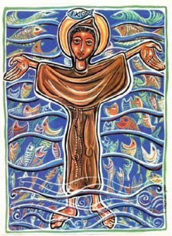 A vida de Santo Antônio em desenhos de Cláudio Pastro Mais