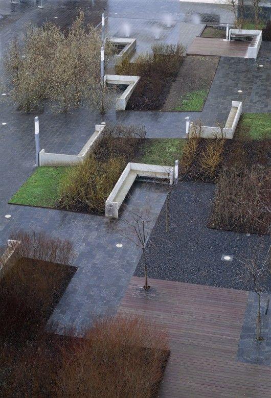Desert Plaza In Barakaldo - by NO.MAD tratamiento de pisos