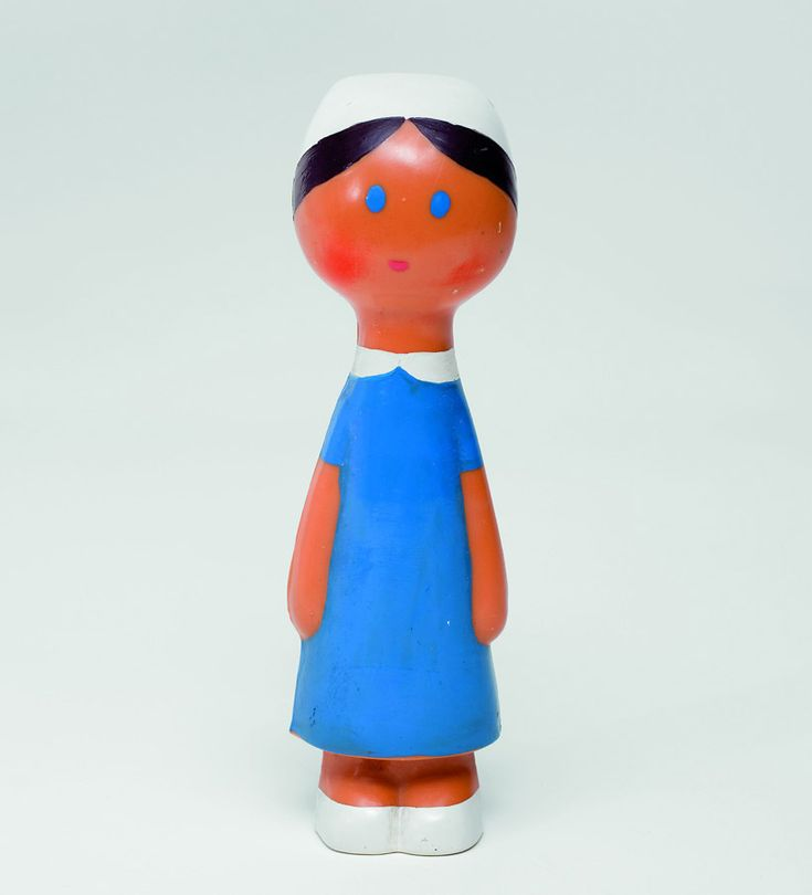 from the work of czech designer libuše niklová (1934-1981) who was well-known in her home country for creating toys and small figurines
