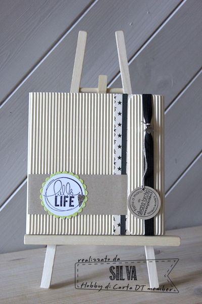 Hobby di Carta - Il blog: Mini album Hello Life by Silva