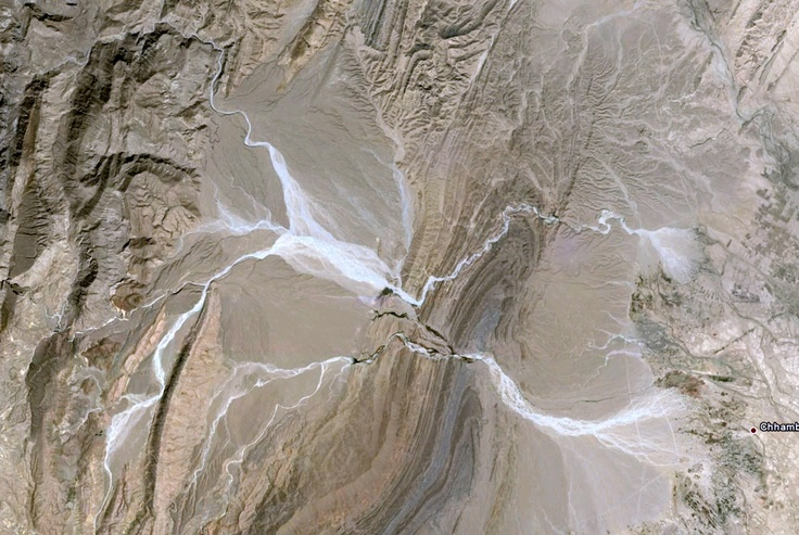 alluvial fan floods in Pakistan