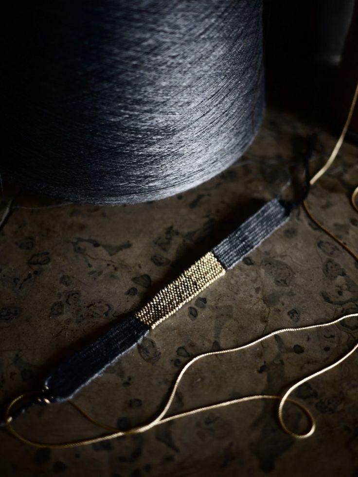 fil de soie grey & LOOM N°33