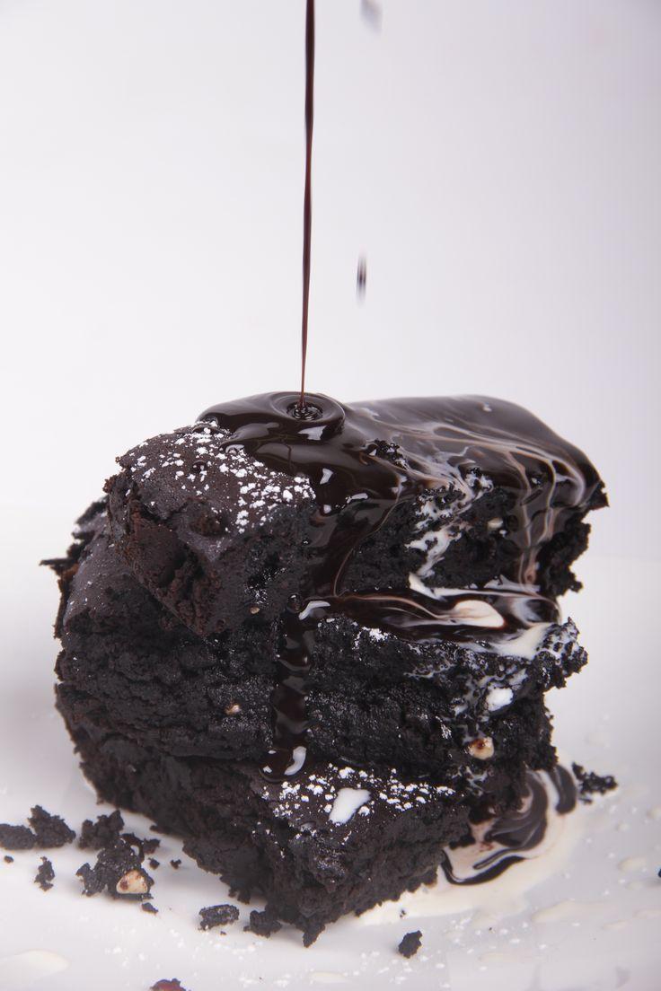 Muddy chocolate brownies