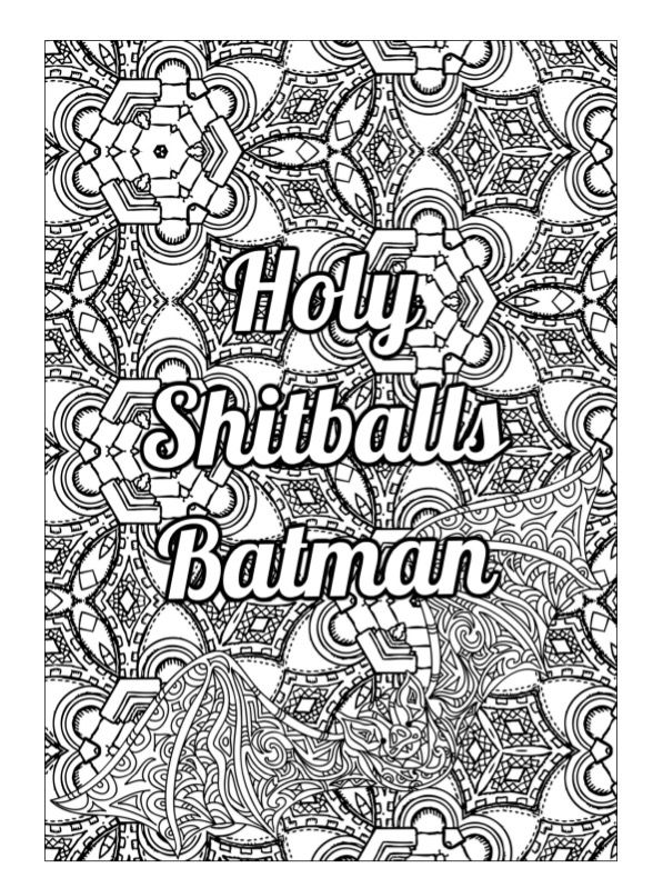 329 Best Swear Word Coloring Pages Images On Pinterest