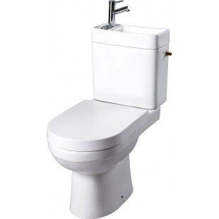 pack wc poser avec abattant magn tique et lave mains int gr sortie horizontale bad. Black Bedroom Furniture Sets. Home Design Ideas