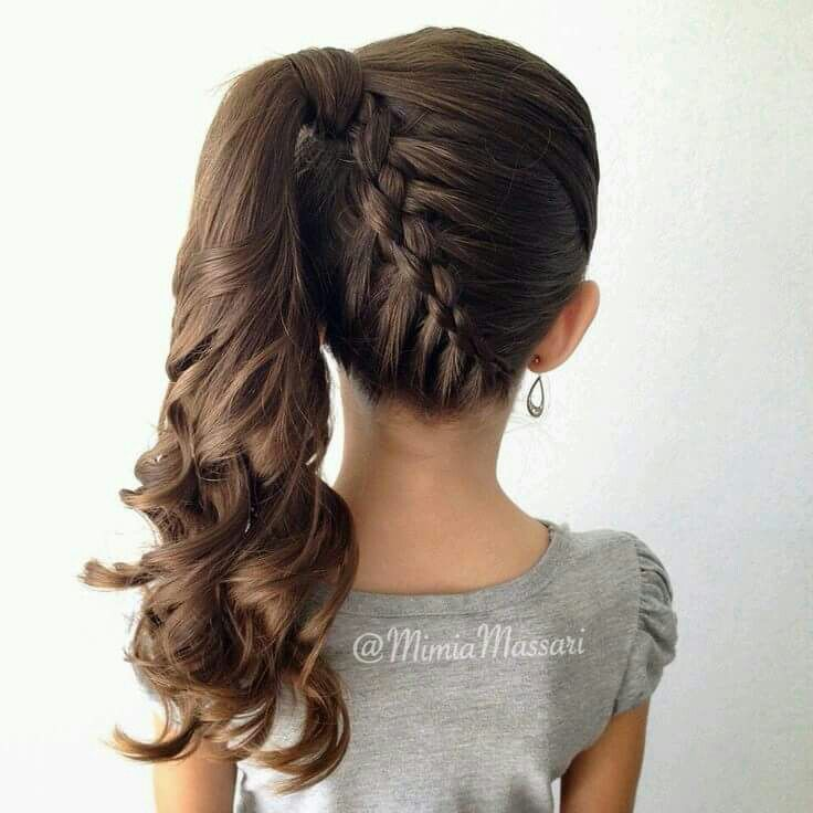 Hairstyle Pictures 21 Best Preschool Hairstyles Images On Pinterest  Children Hair