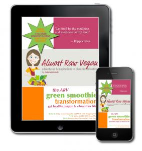 AlmostRawVegan.com ~ Check it out, Kickstart your Health & Lose Weight for ONLY $4.99! ♡♡ GET: 70+ Green Smoothie Recipes (beginner & advanced) PLUS all the deats for a 3-Day Green Smoothie Cleanse PLUS MenuPlans & Shopping Lists PLUS a whole lot more! http://almostrawvegan.com/green-smoothie-transformation-ebook/
