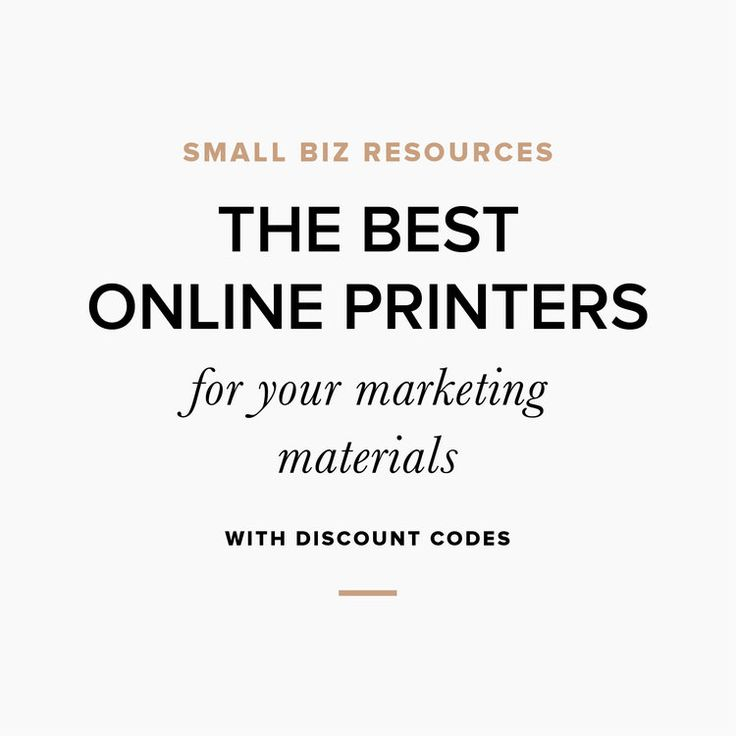 The Best Online Printers for Your Marketing Materials