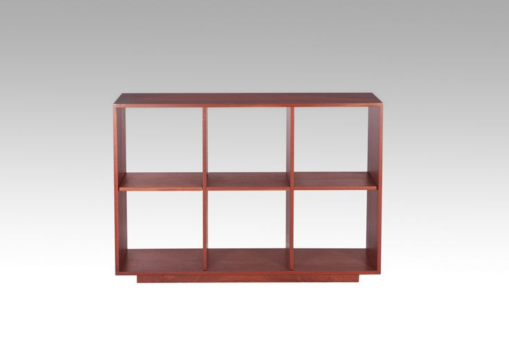 Cube Bookcase. Custom made to size in your choice of timber. Pictured in solid jarrah. WA Made