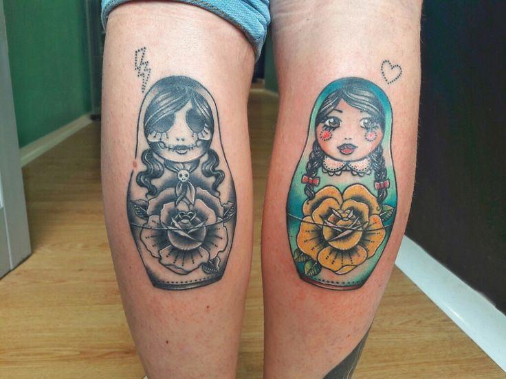 Matrioska tattoo 👧
