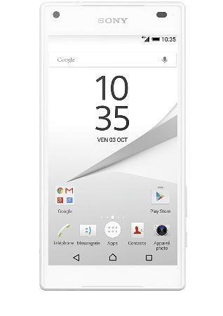 Découvrez le Sony Z5 compact chez Sosh et offrez vous un smartphone qui dispose d'un son et d'un appareil photo aux performances impressionantes!